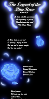 The Legend of the Blue Rose by katie-the-fox