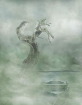 alone as a tree by Sylph-Art