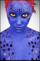 Mystique Headshot by CelestialRaven16