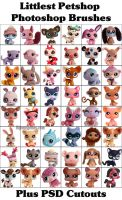 Littlest Petshop Photoshop Brushes by ibjennyjenny