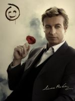 Rose - Simon Baker by cendredelune