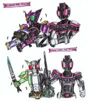 Kamen Rider Decade Concept: Additional Summons by FlamedramonX20