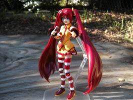 Custom Painted Mcdonalds Miku by PokepictureFigurefun