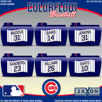 Colorflow Cubs Numbers by JayJaxon