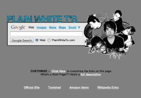 Plain White T's Startpage by AwesomeStart