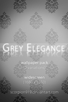 grey elegance by scorpion919