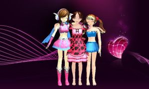 My 3 Models by SilentTalent