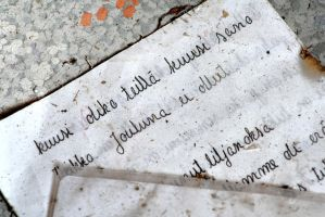4.10.2013: Letters on the Floor by Suensyan