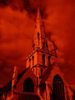 the church Of Doom by Evil-In-Ink