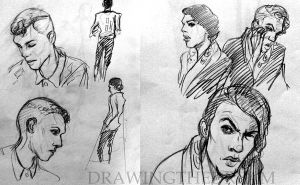 Stromae sketches by Ernelle