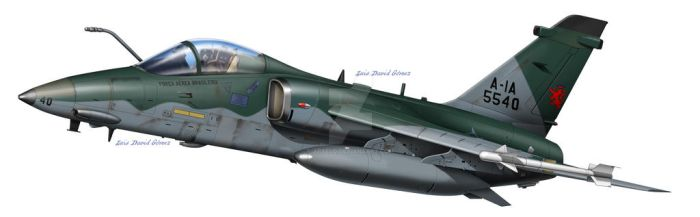 AMX A-6 Brazilian Jet by araeld