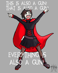 RWBY - It's also a Gun. by lightning-in-my-hand