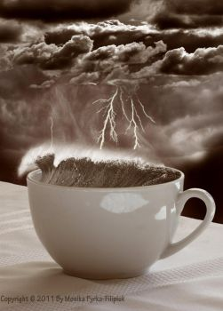 Storm in a Coffee Cup by moniaswan