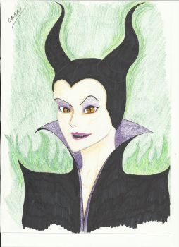 Maleficent by shadowedshards
