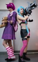 Annie and Jinx by Lulu-cosplay