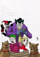 joker harley x SS Joker/Harley colored by nic011