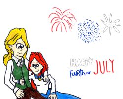 James and Sarah's 4th of July by SonicClone