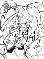 sonic and tails by trunks24