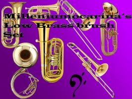 Low Brass Brush set by milleniumocarina