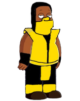 Cleveland Brown as Scorpion by darthraner83
