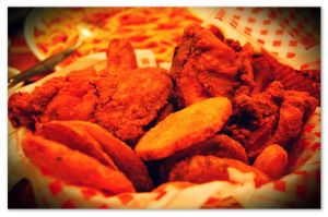 Shakey's Basket of Chicken and Mojos by Roxyielle