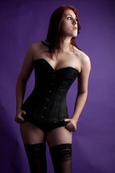 Lucy corset 25 by Random-Acts-Stock