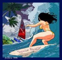 Surfer Girl by Juvera
