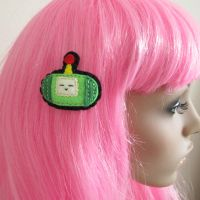 katamari hair clip by hellohappycrafts