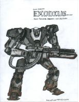 EXODIUS - HPA suit COLORED by NeoLupeTrooper9893