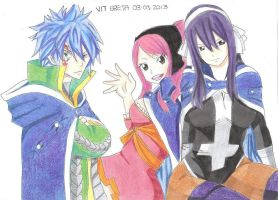 Jellal, Meredy and Ultear by Jelly9614