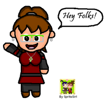 First try Chibi On Paint by SpriteGirl