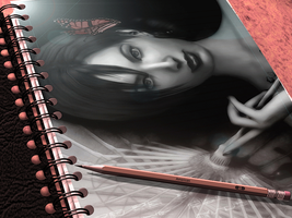 Notebook by Ada-hime