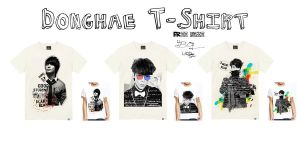 Donghae T-Shirt by qdlego