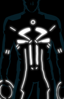 Punisher tron by anklesnsocks