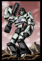 Stephen Baskerville's Megatron - colours by hellbat