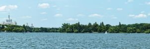 Herastrau Lake Panorama 3 by UNBREAKABLE2005