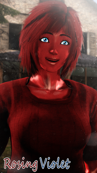 Rosing Violet - Redna Red by WitchyGmod