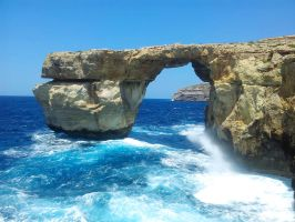 Azure Window-Malta by TitusBoy25