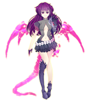 Dragon Girl Adoptable Auction [CLOSED] by Andreia-Chan