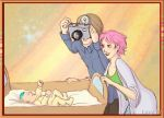 Smile at the camera, Teddy by Loony-Lucy