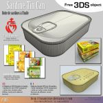 Free 3DS : 005-sardine-tin-can by lasaucisse