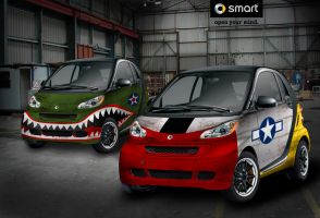 WWII Smart Car by billab0ng86