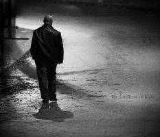 the loneliness of night by hidlight