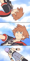 KH3D Comic - View from down here by rasenth