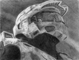 Master Chief by Glaexeaus