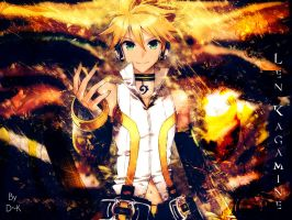 Kagamine Len Electro by DiKnow