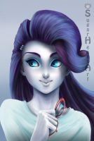 Rarity Equestria Girls by SugarHeartArt