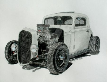 Eric's Rat rod by nethompson