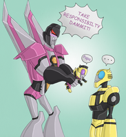 TFA - USE PROTECTION KIDS by Rosey-Raven