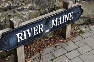 Sign in Randalstown by Sarahmon